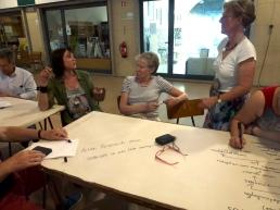 Workshop at local market
